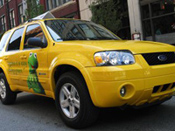 Ford Escape Taxi