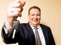 Used car salesmann