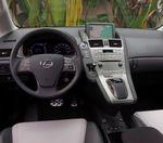 Lexus console