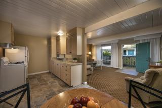 2017 1 Bedroom Suite Kitchen  Dining & LIving Room